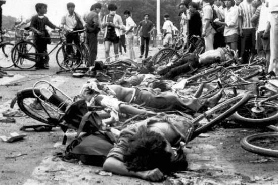 Tiananmen Square Massacre In Pictures