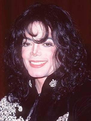 Photo of Michael Jackson at age 38