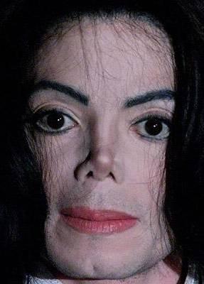 Photograph of Michael Jackson at age 42