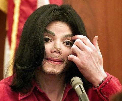 Transformation of Michael Jackson at age 43