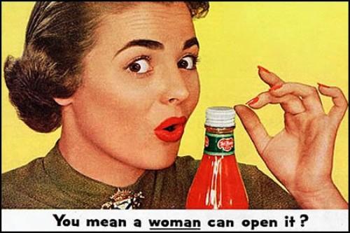 sexist-vintage-ads-women-open-ketchup