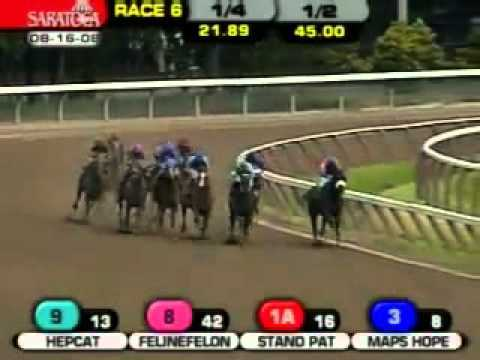 Video thumbnail for youtube video Best Horse Race Ever
