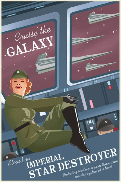 Explore The Galaxy Empire Poster