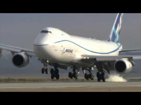 Video thumbnail for youtube video How The Brakes Are Tested On A Boeing 747-8