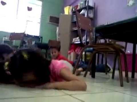Video thumbnail for youtube video Teacher Maintains Her Kindergarten Class During Gun Battle