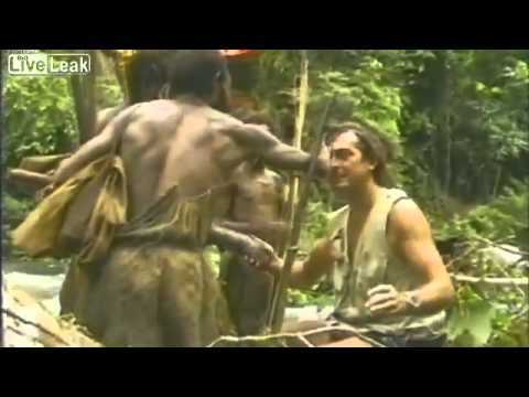 Video thumbnail for youtube video Amazon Tribe Meets White Man For First Time
