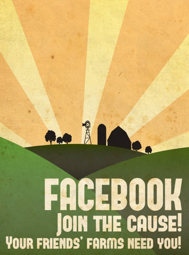 Facebook Farmville Join the Cause