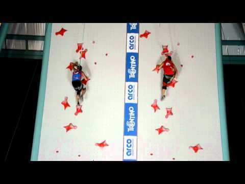 Video thumbnail for youtube video 2011 Speed Climbing World Record Winner