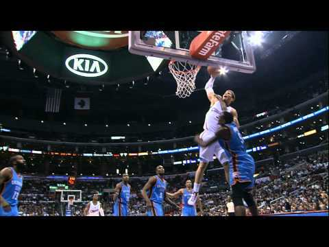 Video thumbnail for youtube video Blake Griffin's Dunk Of The Year