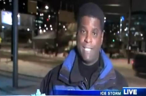 candid-tv-reporter