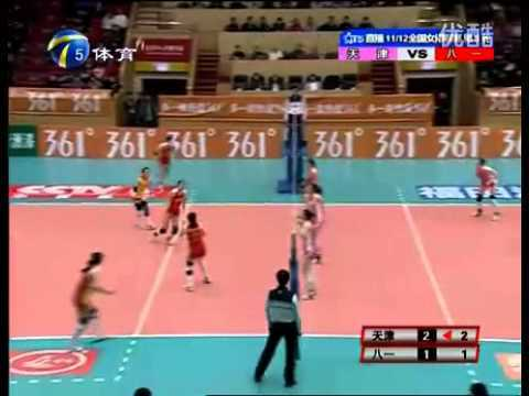 Video thumbnail for youtube video Chinese Women's Volleyball Is Insane