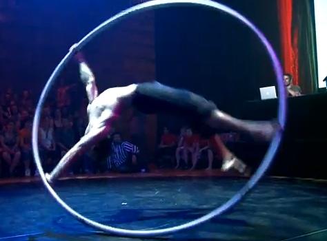 gymnast-wheel