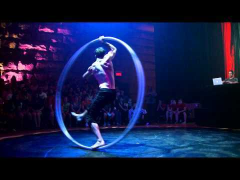 Video thumbnail for youtube video Incredible Gymnast's Use Of The Circonvolution Wheel
