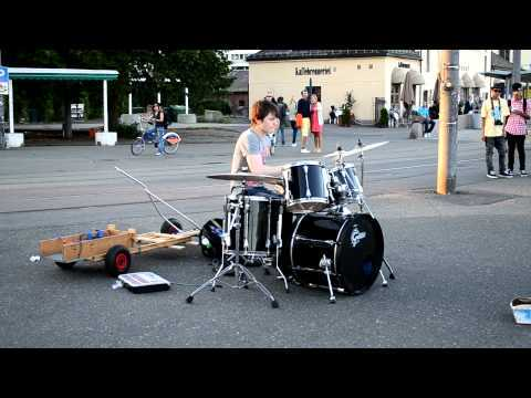 Video thumbnail for youtube video Incredible Norwegian Kid Drummer
