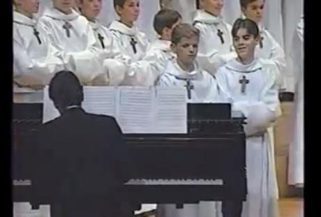 Church Choir Singing Like Cats