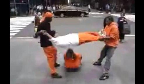 Inmates Playing Human Jump Rope