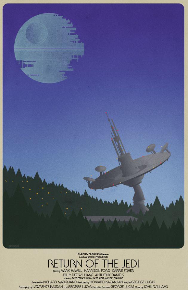 Star Wars Return Of The Jedi Pulp Comic