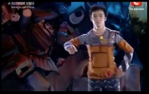 perfect robot dance