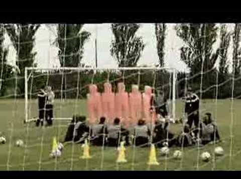 Italian Soccer Practice