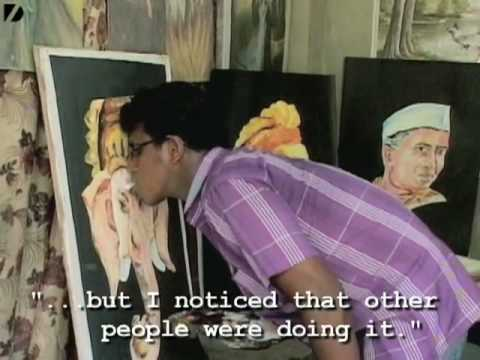 Painting With Your Tongue