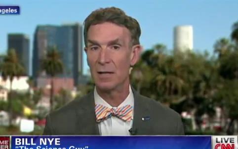 Bill Nye Sets CNN Straight On Climate Change