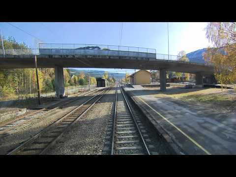 Video thumbnail for youtube video A 6 Hour Train Ride Through Norway
