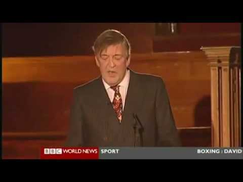 Video thumbnail for youtube video Stephen Fry On The Corruption Of The Catholic Church