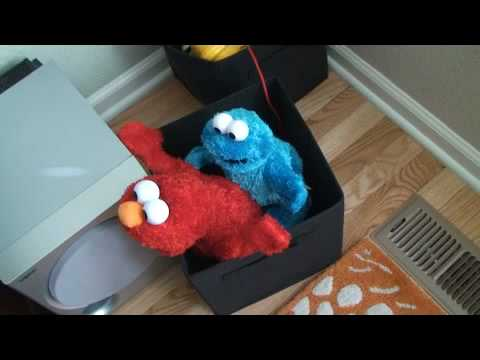 Cookie Monster And Elmo Get Dirty