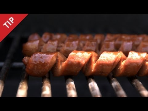 Spiral Cut Your Hot Dogs