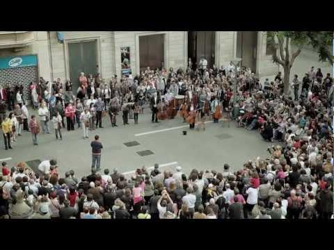 Som Sabadell Flash Mob
