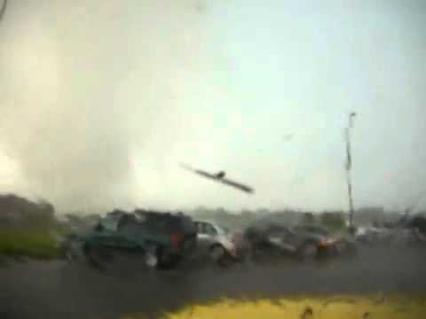 Filming A Tornado Hitting Your Truck