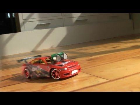 Make A Drifting Robot Car