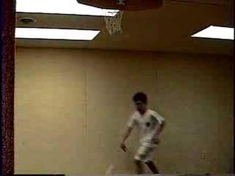 Sweet Indoor Basketball Dunks