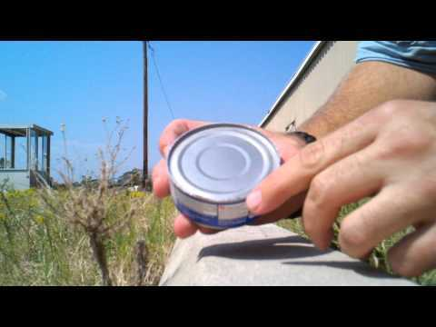 Video thumbnail for youtube video How To Open A Can Without A Can Opener