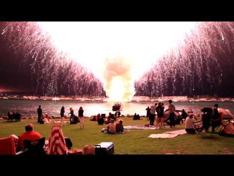 Video thumbnail for youtube video San Diego's Fourth Of July Fireworks Misfire