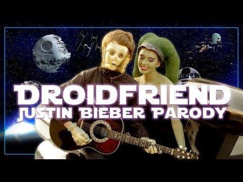 Video thumbnail for youtube video Star War's Droids Take On Justin Bieber's Boyfriend