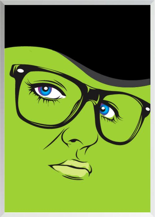 Wizard of Oz Characters as Hipsters Witch