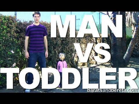 Man Versus Toddler