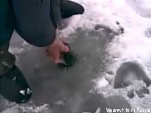 Ice Fishing Like A Boss