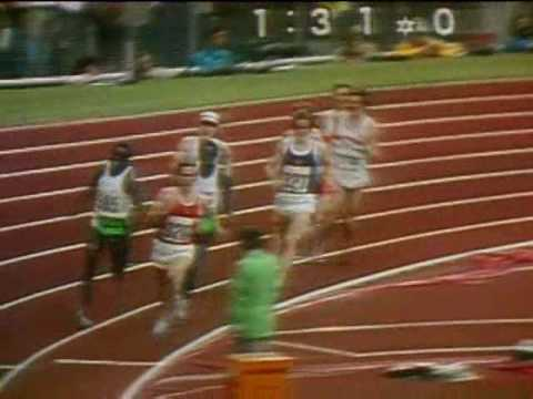 The Amazing 1972 Olympic 800 Meters Final