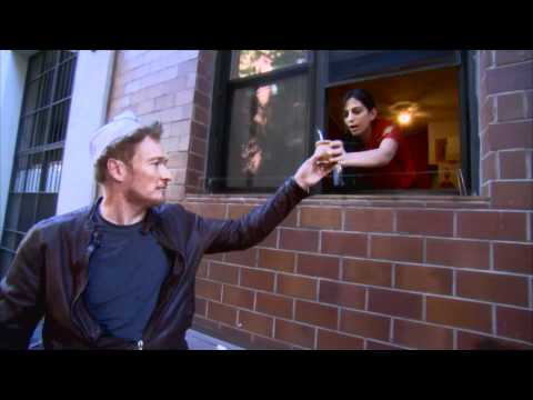 Conan Delivers Chinese Food In New York City