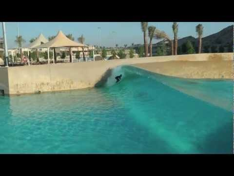 Video thumbnail for youtube video Surfing In A Wave Pool