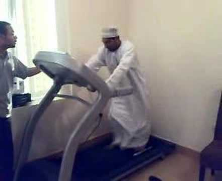 A Fantastic Treadmill Freakout