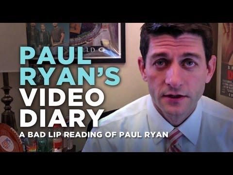 Paul Ryan's Video Diary