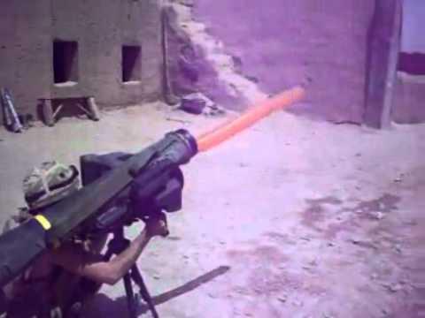 Epic Javelin Missile In Afghanistan