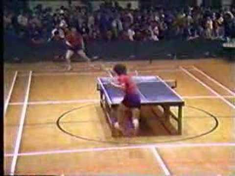 An Incredible Ping Pong Rally