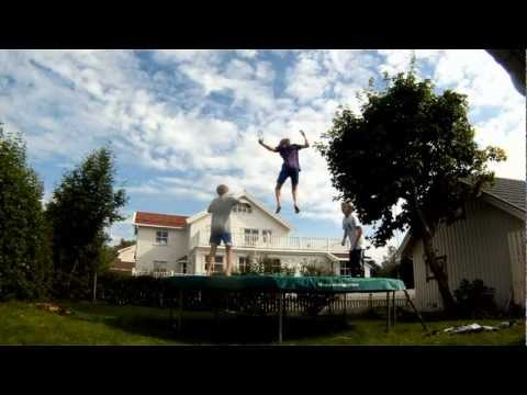 Awesome Trampoline Freestyling