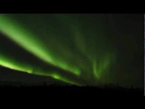A Time Lapse Of The Aurora Borealis
