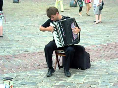 One Bad Ass Accordionist