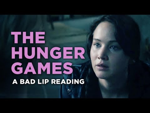 A Bad Lip Reading Of The Hunger Games